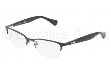 D&G Playful chic DD5113 Progressive Prescription Eyeglasses 064-5217 - Black Frame
