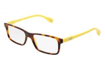 D&G Vibrant colours DD1244 Eyeglass Frames 2606-5116 - Dark Steel Frame
