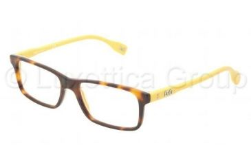 D&G Vibrant colours DD1244 Progressive Prescription Eyeglasses 2606-5116 - Dark Steel Frame