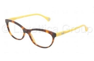 D&G VIBRANT COLOURS DD1245 Eyeglass Frames 2606-5116 - Dark Steel Frame
