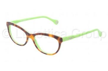 D&G VIBRANT COLOURS DD1245 Eyeglass Frames 2687-5116 - Dark Steel Frame