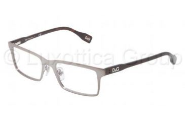 D&G Vibrant colours DD5115 Progressive Prescription Eyeglasses 090-5017 - Matte Gunmetal Frame
