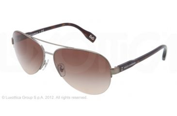 D&G VIBRANT COLOURS DD6092 Progressive Prescription Sunglasses DD6092-090-13-61 - Lens Diameter 61 mm, Frame Color Gunmetal