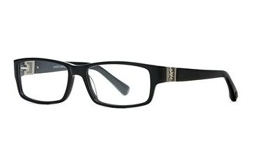 Dakota Smith Fearless SEDS FEAR00 Eyeglass Frames - Black SEDS FEAR005540 BK