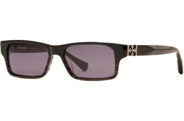 Dakota Smith Instinct SEDS INSN06 Single Vision Prescription Sunglasses SEDS INSN065445 BK - Frame Color: Black, Lens Diameter: 54 mm, Lens Diameter: 57 mm