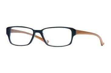 Dakota Smith Wall Street SEBM WALL00 Single Vision Prescription Eyewear - In The Black SEBM WALL005335 BK