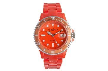Dakota Watches Fusion Color Link, Orange Dial & Plastic Link Band 3037-1