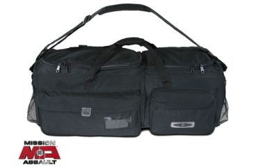 Damascus Protective Gear DB1 Mission Assault Duty and Gear Bag, Black, Black DB1