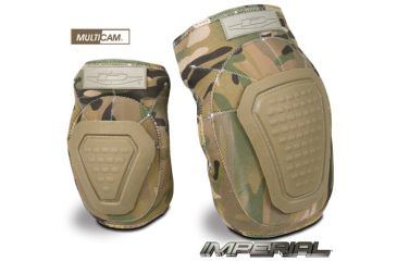 Damascus Protective Gear DNKPM Imperial Neoprene Knee Pads with Reinforced Non-slip Trion-X Caps, Multi-Cam Camo, Multi-Cam Camo, 1 size DNKPM