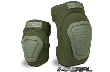 Damascus Protective Gear DNKPOD Imperial Neoprene Knee Pads with Reinforced Non-slip Trion-X Caps, Olive Drab, Olive Drab, 1 size DNKPOD