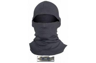 Damascus Protective Gear NH50L Lightweight Hood Balaclava with Fire Retardant Nomex, 18 Inch, Black, Black, 1 size NH50L