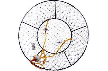 Danielson conical crab trap 021918 for Fishing pole crab trap
