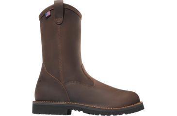 6b3337f3752 Danner Bull Run Wellington 11in Round Toe Boots - Mens