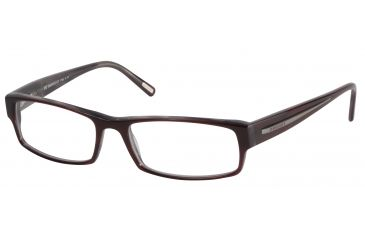 Davidoff 91012 Single Vision Prescription Eyeglasses - Red Frame and Clear Lens 91012-8028SV