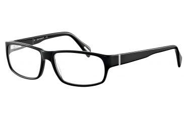 Davidoff No. 91019 Eyeglasses - Black Frame and Clear Lens 91019-8840