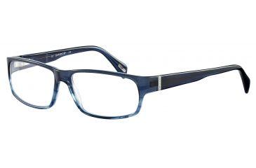 Davidoff No. 91019 Eyeglasses - Blue Frame and Clear Lens 91019-6417