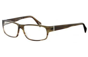 Davidoff No. 91019 Eyeglasses - Green Frame and Clear Lens 91019-6394