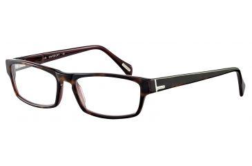 Davidoff 91020 Bifocal Prescription Eyeglasses - Brown Frame and Clear Lens 91020-6396BI