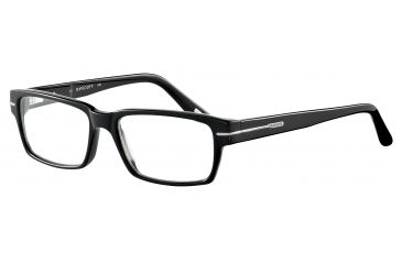 Davidoff 91021 Single Vision Prescription Eyeglasses - Black Frame and Clear Lens 91021-8840SV