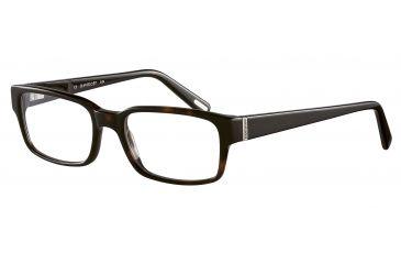 Davidoff 91027 Single Vision Prescription Eyeglasses - Brown Frame and Clear Lens 91027-8940SV