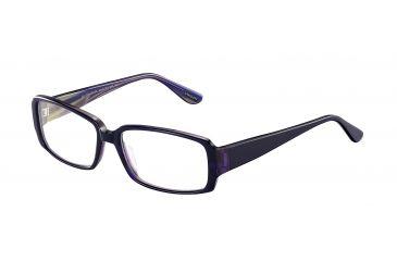 Davidoff 91500 Progressive Prescription Eyeglasses - Black Frame and Clear Lens 91500-6302PR