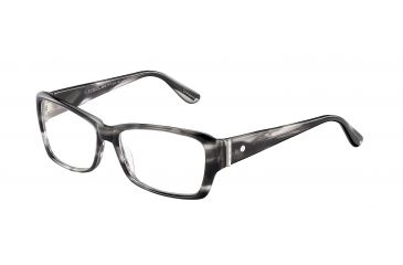 Davidoff 91501 Bifocal Prescription Eyeglasses - Grey Frame and Clear Lens 91501-6477BI