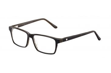 Davidoff No. 91502 Eyeglasses - Brown Frame and Clear Lens 91502-6133