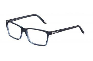 Davidoff 92008 Bifocal Prescription Eyeglasses - Blue Frame and Clear Lens 92008-6446BI