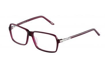 Davidoff 92009 Bifocal Prescription Eyeglasses - Red Frame and Clear Lens 92009-6160BI