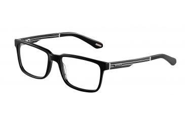 Davidoff No. 92010 Eyeglasses - Black Frame and Clear Lens 92010-6001