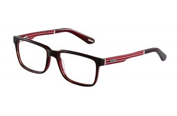 Davidoff No. 92010 Eyeglasses - Brown Frame and Clear Lens 92010-6270