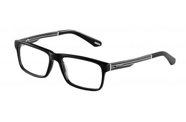 Davidoff 92011 Bifocal Prescription Eyeglasses - Black Frame and Clear Lens 92011-8840BI
