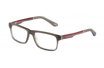 Davidoff 92011 Bifocal Prescription Eyeglasses - Grey Frame and Clear Lens 92011-6176BI