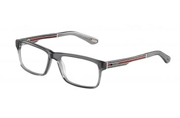Davidoff 92011 Bifocal Prescription Eyeglasses - Grey Frame and Clear Lens 92011-6373BI