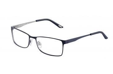 Davidoff 93039 Progressive Prescription Eyeglasses - Blue Frame and Clear Lens 93039-605PR