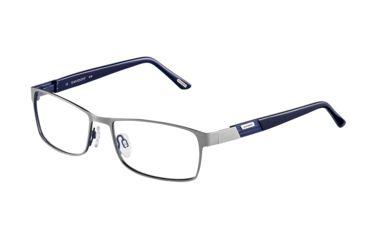 Davidoff 93040 Progressive Prescription Eyeglasses - Grey Frame and Clear Lens 93040-549PR
