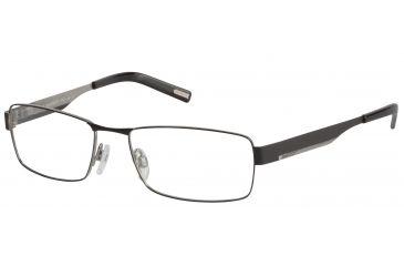 Davidoff 95065 Progressive Prescription Eyeglasses - Black Frame and Clear Lens 95065-610PR