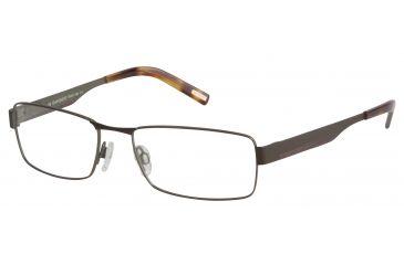 Davidoff 95065 Progressive Prescription Eyeglasses - Brown Frame and Clear Lens 95065-480PR