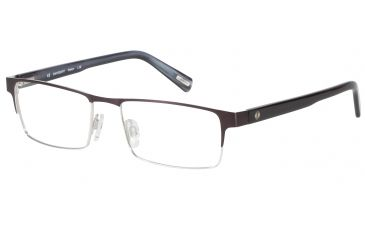 Davidoff 95092 Bifocal Prescription Eyeglasses - Grey Frame and Clear Lens 95092-537BI