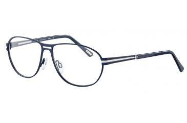 Davidoff 95099 Bifocal Prescription Eyeglasses - Blue Frame and Clear Lens 95099-576BI