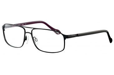 Davidoff 95100 Bifocal Prescription Eyeglasses - Black Frame and Clear Lens 95100-565BI