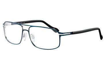 Davidoff 95100 Bifocal Prescription Eyeglasses - Blue Frame and Clear Lens 95100-564BI