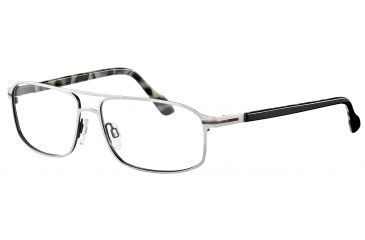 Davidoff 95100 Bifocal Prescription Eyeglasses - Grey Frame and Clear Lens 95100-566BI