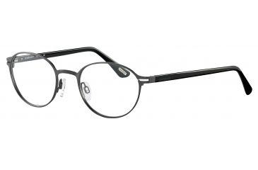 Davidoff 95101 Progressive Prescription Eyeglasses - Grey Frame and Clear Lens 95101-569PR