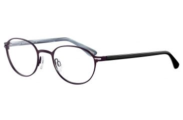 Davidoff 95101 Progressive Prescription Eyeglasses - Red Frame and Clear Lens 95101-571PR