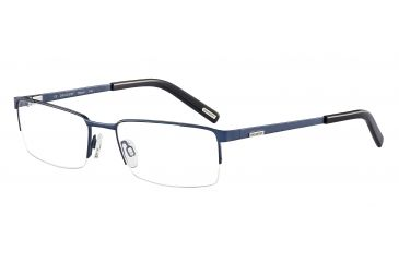 Davidoff 95105 Bifocal Prescription Eyeglasses - Blue Frame and Clear Lens 95105-589BI