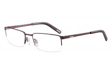 Davidoff 95105 Bifocal Prescription Eyeglasses - Red Frame and Clear Lens 95105-591BI