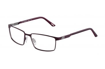 Davidoff 95107 Progressive Prescription Eyeglasses - Red Frame and Clear Lens 95107-606PR