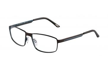 Davidoff 95108 Single Vision Prescription Eyeglasses - Brown Frame and Clear Lens 95108-596SV