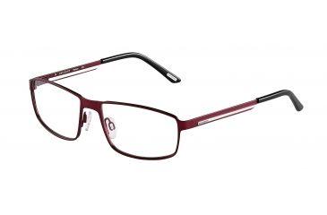 Davidoff 95108 Single Vision Prescription Eyeglasses - Red Frame and Clear Lens 95108-597SV
